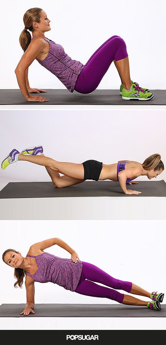 Sculpt strong arms with these moves, no weights necessary!
