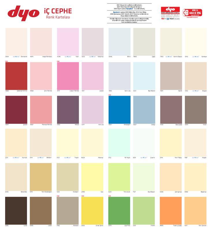 Süper Tasarım Dyo Boya Renkleri Kataloğu Galerisi