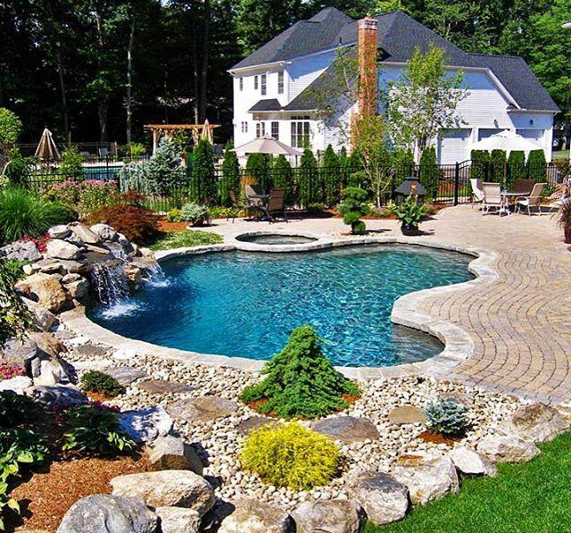 Aqua Pool On Instagram: Big Or Small Aqua Pool And Patio