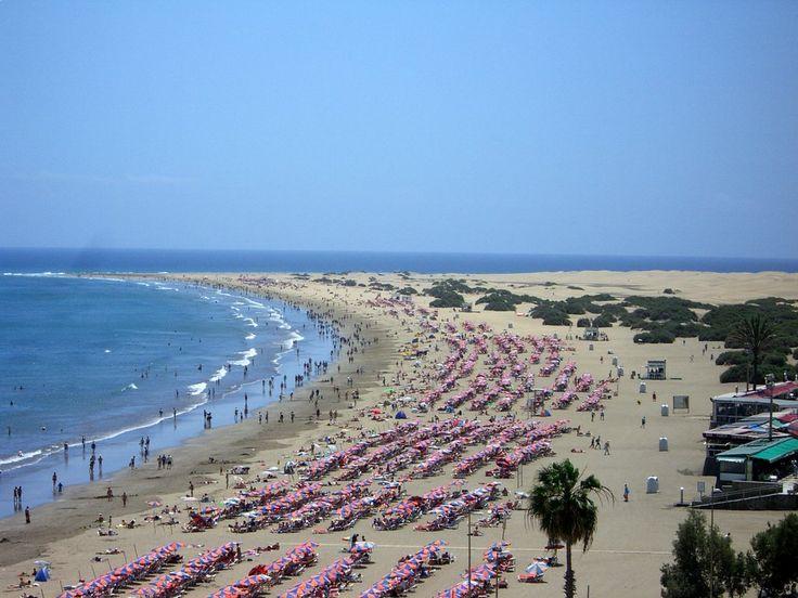 Playa des Ingles, Gran Canaria
