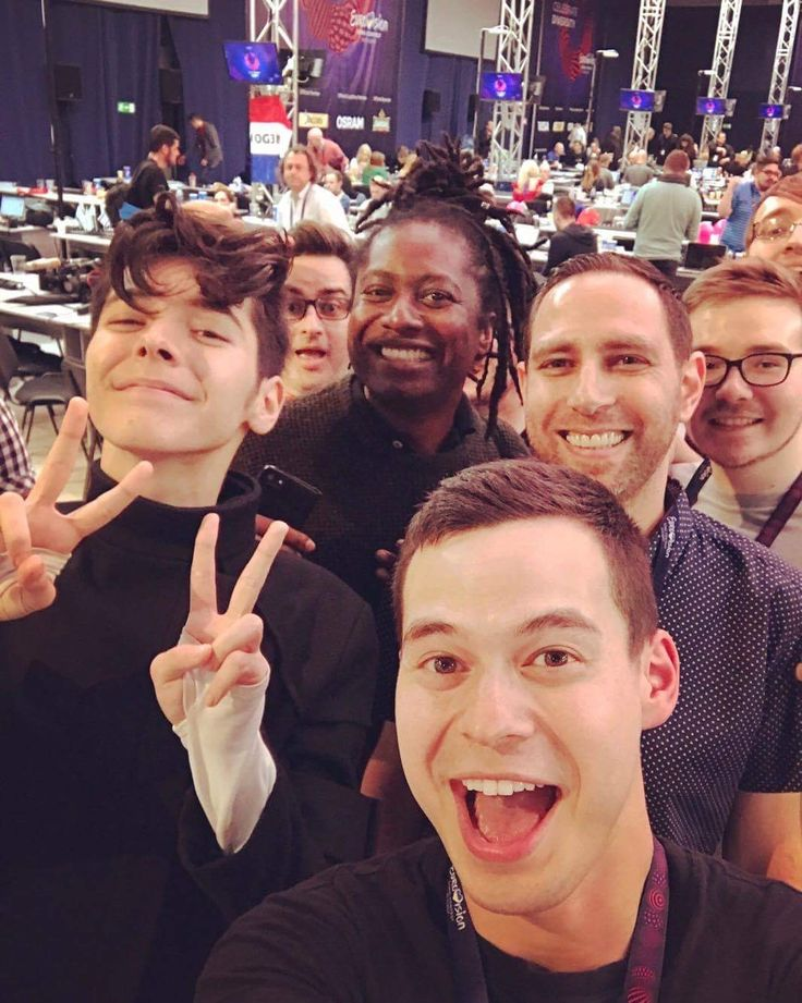 Kristian Kostov Eurovision squad