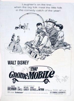 walt disney the gnome mobile | La Gnome-Mobile - Quand les films de Walt Disney s'affichent...