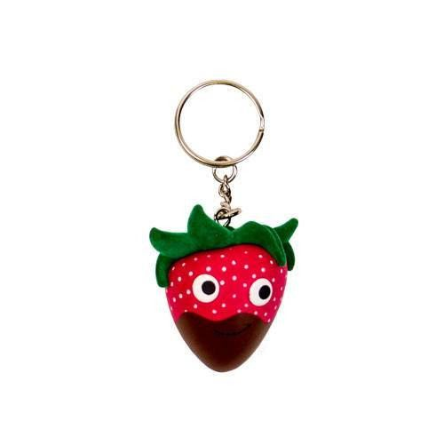 The Yummy World chocolate dipped strawberry keychain is fantastic for that someone special in your life. Keep your favorite Yummy World Character close by at all times!!! On your keys or maybe on your