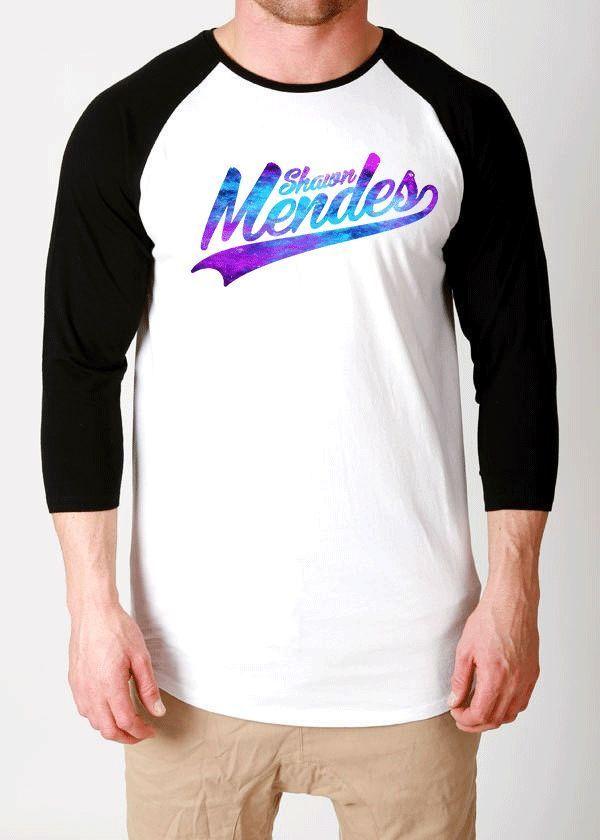 shawn mendes shirt t-shirt clothing unisex tour concert tee handwritten 98 logo  #UNBRANDED #raglanbaseball