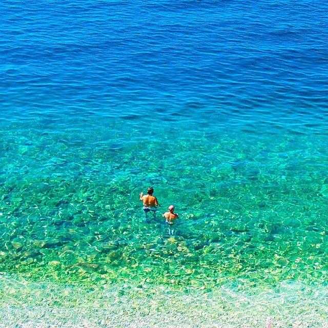 En dejlig svømmetur i det klare vand i Kroatien. Du kan læse mere om Kroatien her: www.apollorejser.dk/rejser/europa/kroatien