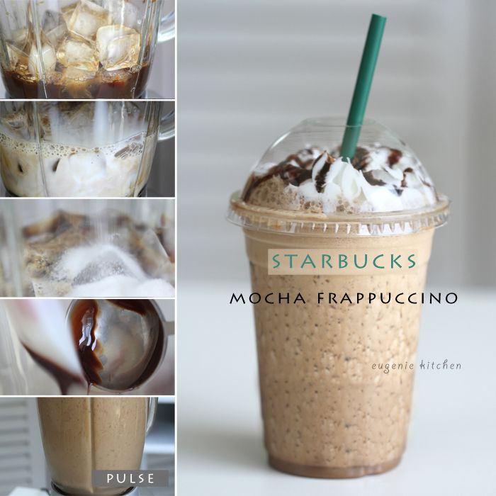 How To Make Starbucks Mocha Frappuccino at Home [Copycat Recipe]