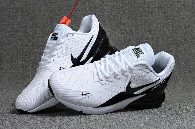 f31712f3b1b Nike Air Max Flair 270 KPU White Black Men s Running Shoes Air Max 270