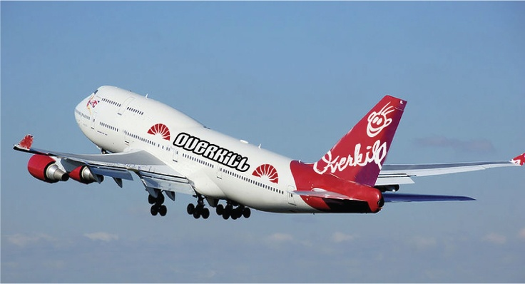 Calling all passengers aboard OK Airlines. Only requirement.... wear Overkill gear!