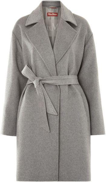 My Max Mara Grey Cashmere coat 2011: