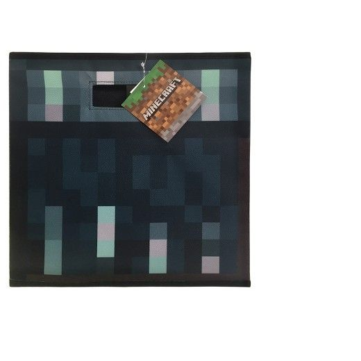 Your little one will doze off into dreamland ready to build epic creations with this Good vs. Evil Comforter from Minecraft. This reversible Minecraft comforter features a graphic print on both sides - one side features all good characters like pigs, chickens and a variety of different mineral blocks. The other side features evil characters from Minecraft like Creepers, Blaze, Zombie Pigman and magma cubes for a fun and thematic design. Made with an incredibly soft and cozy fabric, your…