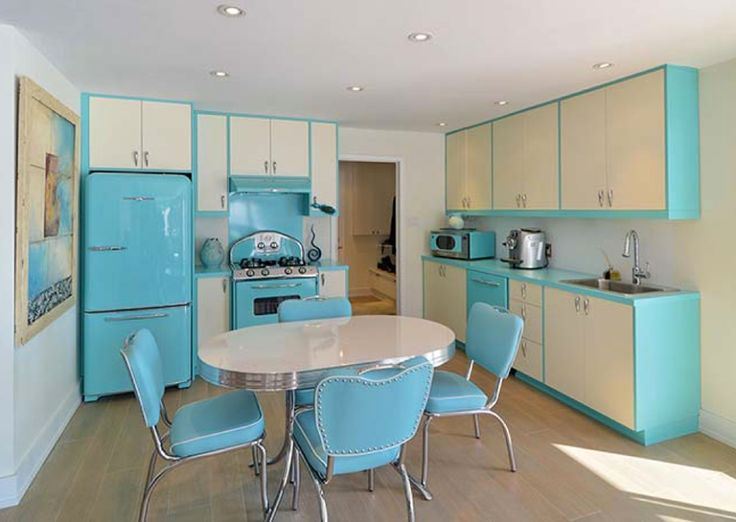 Good Classic Kitchens We Simply Adore! 1950s Home Decor50s ...