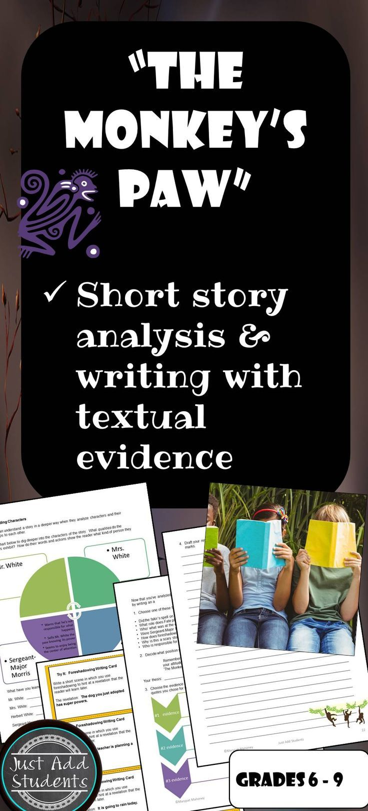 reading analysis of short story aguantando Inferences are based on evidence to infer, we must collect evidence and evidence is collected by the process of analysis.