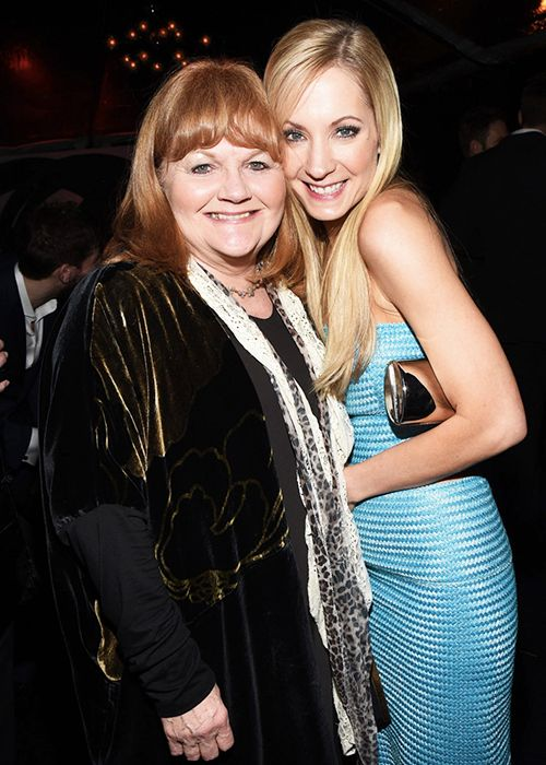 all JoFro, all the time! ..Actresses Lesley Nicol and Joanne Froggatt attend Audi celebrates Golden Globes Week 2015 at Cecconi's Restaurant on January 8, 2015 in Los Angeles, California. ..