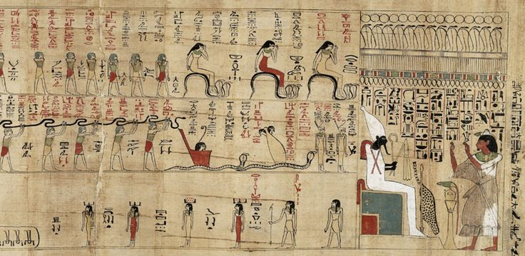 Section From The Book Of The Dead And The Amduat Of The Amun Priest Amenophis In The Egyptian Court P 3005 3rd Inte Agyptisches Museum Berlin Museum Museum
