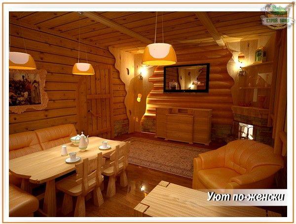 Картинки по запросу дизайн комнаты отдыха в бане