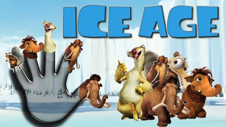 Finger Family Song of ICE AGE | #FingerFamilySong | #FingerFamilyNursery...