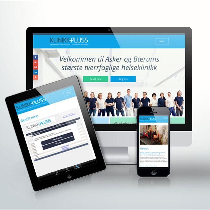 Webdesign for Klinikk Pluss #responsive #responsiv #webdesign #rmobilvennlig #mobilfriendy #design #health #helse #klinikkpluss #norgesdesign #webutvikling #webdevelopment