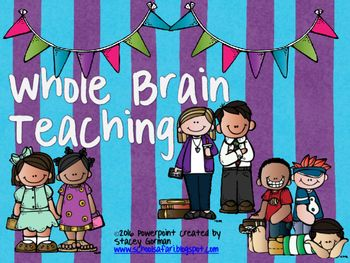 This is a FREE product explaining Whole Brain Teaching with complete references and links to the Whole Brain Teaching website as well as links to Youtube videos showing Whole Brain Teaching in action. This is a presentation I am doing with our staff.  It also contains Posters to go with Whole Brain Teaching.