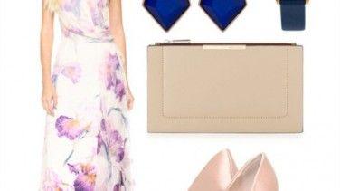 #kombin #women #combination #moda #flowerydress #bayan Günün Kombini-Çiçek Elbise