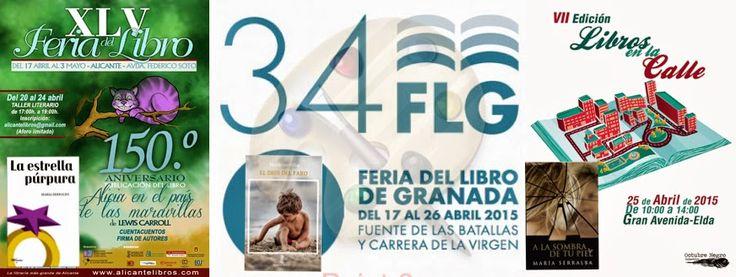 FERIAS DEL LIBRO 2015 ~ El BLOG DE MARÍA SERRALBA