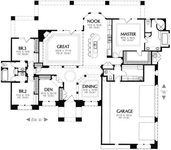 88 Best Floorplans Images On Pinterest House Blueprints