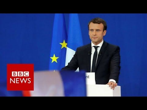 France elections: 'I hope to become your president' Emmanuel Macron - BB...