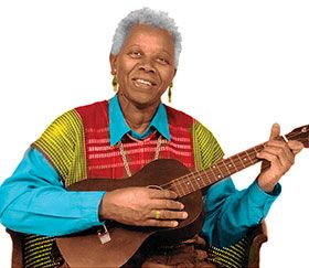 """August 6, 1924 Ella Jenkins, folk singer and """"The First Lady of the Children's Folk Song,"""" was born in St. Louis, Missouri. Jenkins earned her Bachelor of Arts degree in sociology with minors in child psychology and recreation from San Francisco State University. She began a show on Chicago public television called """"This is Rhythm."""" In 1956, Jenkins became a full-time musician and recorded her first album, """"Call-And-Response: Rhythmic Group Singing,"""" in 1957."""