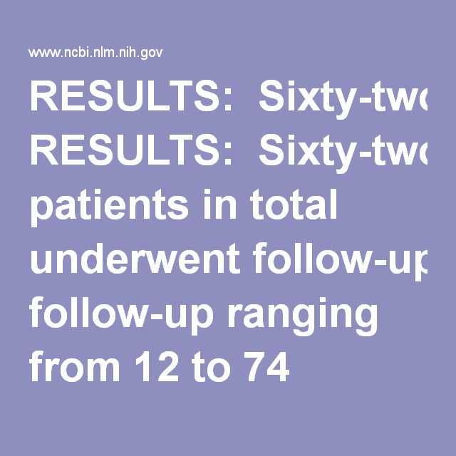 RESULTS:  Sixty-two patients in total underwent follow-up ranging from 12 to 74 months. All patients complained of obvious pain symptoms, including dysmenorrhea, dyspareunia, pain on defecation and chronic pelvic pain. The relief of dysmenorrhea(2.9 ± 2.2 versus 7.5 ± 2.9), dyspareunia(0.7 ± 0.5 versus 4.3 ± 2.2)and pain on defecation(1.6 ± 0.7 versus 7.3 ± 1.9)after surgery was statistically significant(all P<0.01). The scores for all 8 domains of the SF-36 questionnaire were significant…