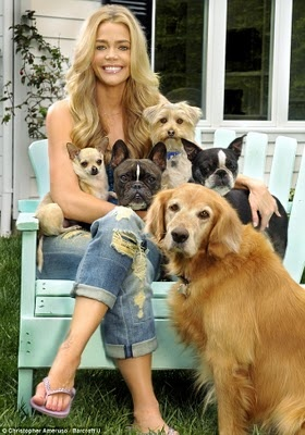 Denise Richards, MUST BE GOOD PERSON TO BE A GOOD DOG LOVER