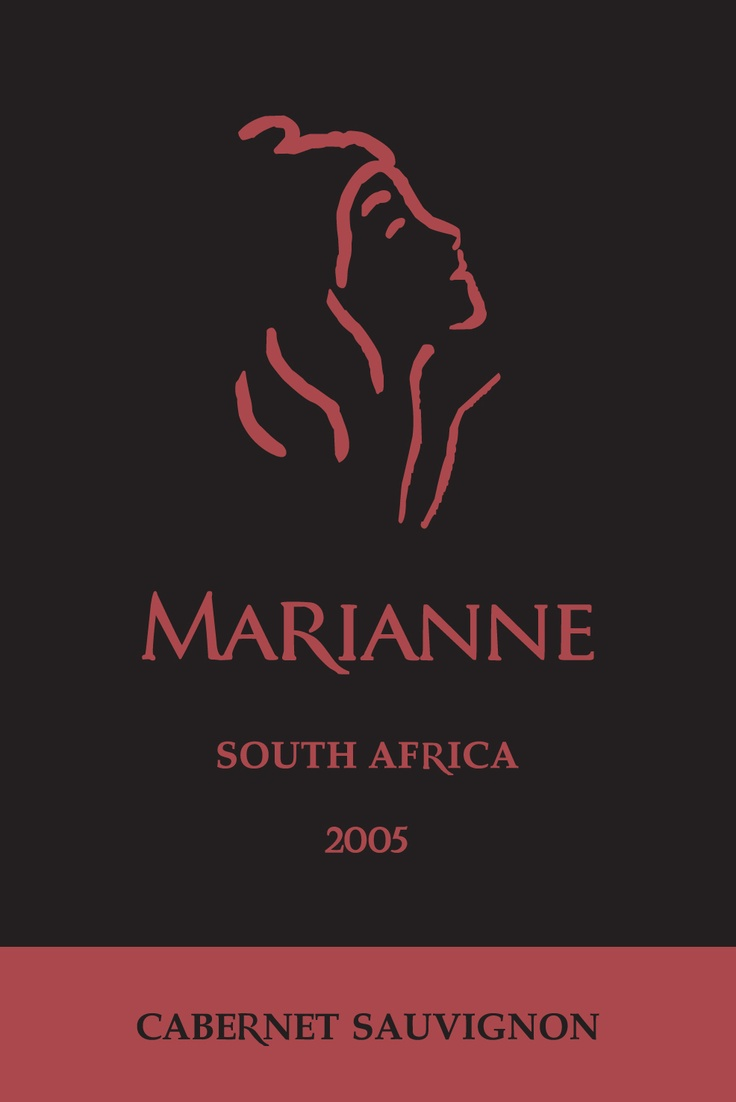 Wine.  Wine Label.  South Africa.      Marianne Estate Cabernet 2005 - Stellenbosch.   Liquid jam.  Pipe, dog and fireplace wine.  Smoooooth.  Now on reserve at the cellar.  Yum.