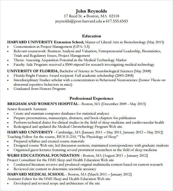 Cv Templates Harvard 2 Templates Example Templates Example In 2020 Resume Templates Business Resume Template Sample Resume Templates