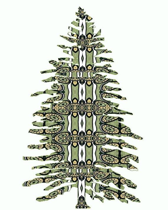 """""""Pine"""" tree painting"""
