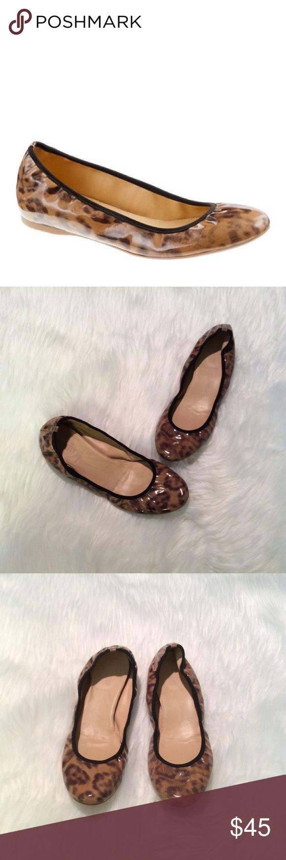 J.Crew Lula Leopard Flats Absolutely gorgeous flats! In great condition. Lula leopard ballet flats J. Crew Shoes Flats & Loafers