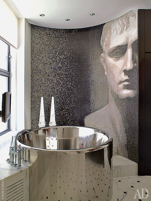 389 best images about m ct on pinterest artistic tile for Bisazza bathroom ideas
