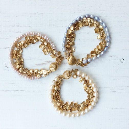 SEASHEL GEEK Pearl Bracelet