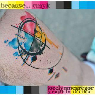 cmyk tattoo - Google Search