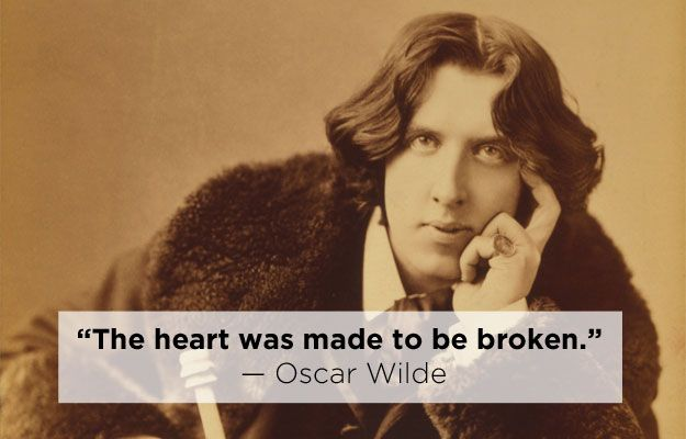 Oscar Wilde | 15 Profound Quotes About Heartbreak From Famous Authors
