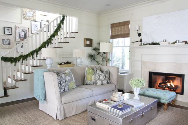 Simply Seleta's living room in Southern Living's December 2011 issue