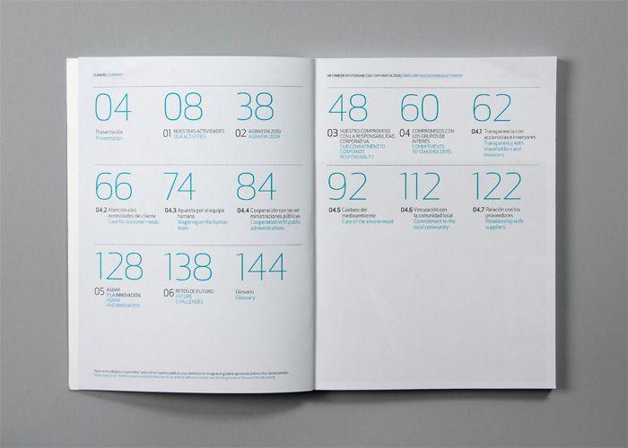Book Spread Design by Clase