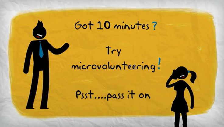 Got 10 minutes? Try microvolunteering. Psst....pass it on! http://helpfromhome.org/