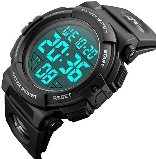 898547c2 Relojes de pulsera digitales CIVO, deportivos, militares, con grandes  números. A prueba
