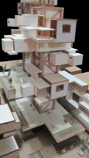 Detalle de vivenda y espacio público