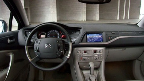 Sit behind the wheel of the Citroën C5 and you know you're in the cockpit of a machine built for a superior drive.