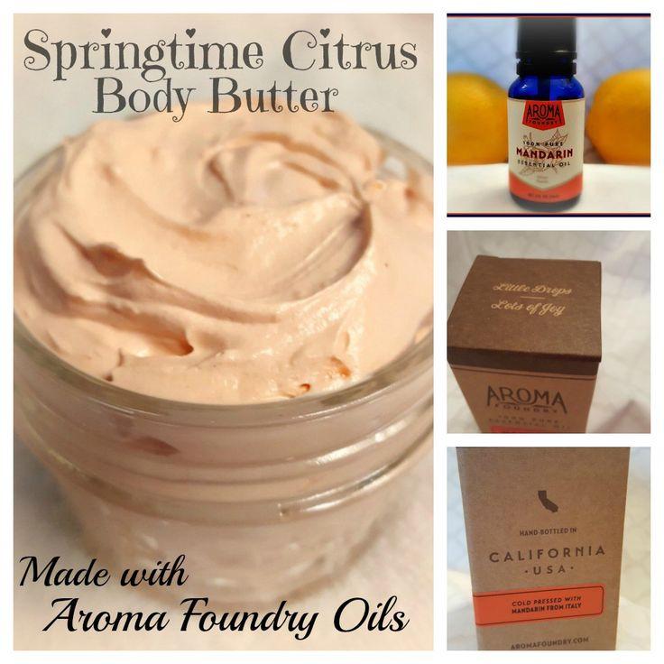 Springtime Citrus Body Butter