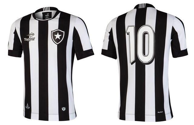 Camisas do Botafogo 2016-2017 Topper Titular