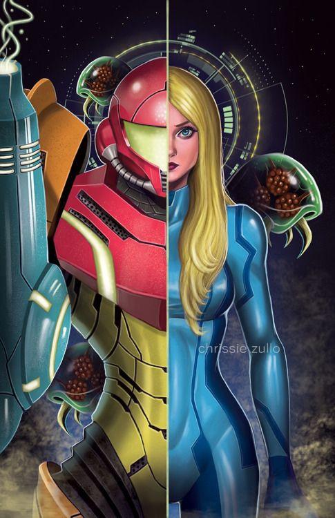 Metroid prime federation force samus aran cameo-4419