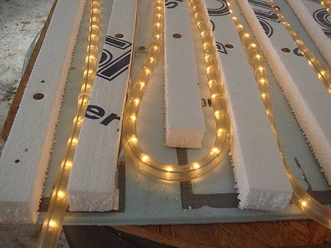 Home Made Bottom Heat For Seed Starting Using Christmas Rope Lights The Garden Pinterest Seeds And