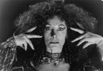 Jean Marsh as Mombi with her original head in 1985's Return to Oz