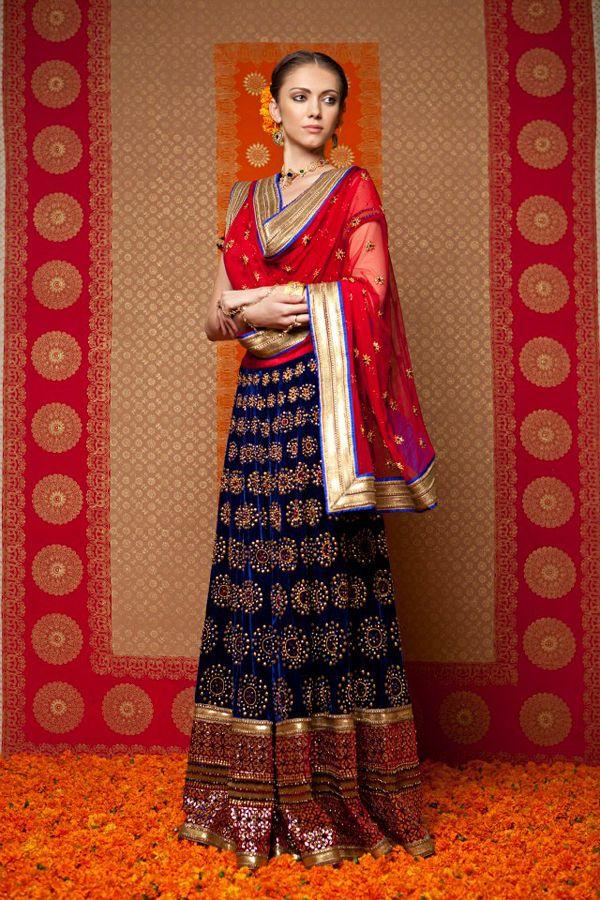 Lengha by Manish Arora