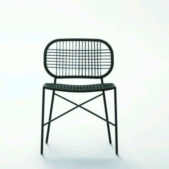 Salento  indoor   outdoor chair with or without armrests  metal frame and  high tech cord braiding 626 best Chairs images on Pinterest   Chair design  Chairs and  . High Tech Arm Chairs. Home Design Ideas